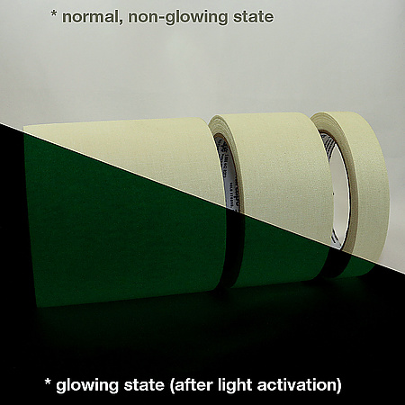 Shurtape P-661 Glow in the Dark Gaffers Tape