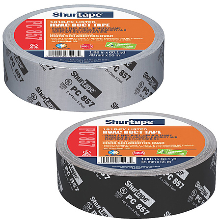 Shurtape PC-857 Printed Cloth Duct Tape [UL 181B-FX Listed]
