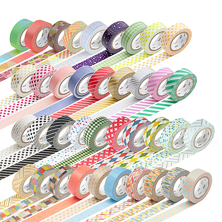 mt Patterns Washi Paper Masking Tape [genuine MT Kamoi Kakoshi / produced in Japan]