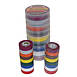 3M Scotch 35-P Electrical Tape Rainbow Pack